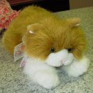 AMBER RETIRED GUND KITTY CAT PLUSH STUFFED ANIMAL NEW WITH TAGS