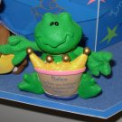 GUND FROG FIGURINE COMFY CRITTERS RETIRED SAYS BELIEVE WHEN YOUR BELIEVE...  NWT