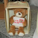 GUND BEAR MAILABLE GIFT TEDDYBEAR AND BOX THINKING OF YOU NEW GUND GIFTS