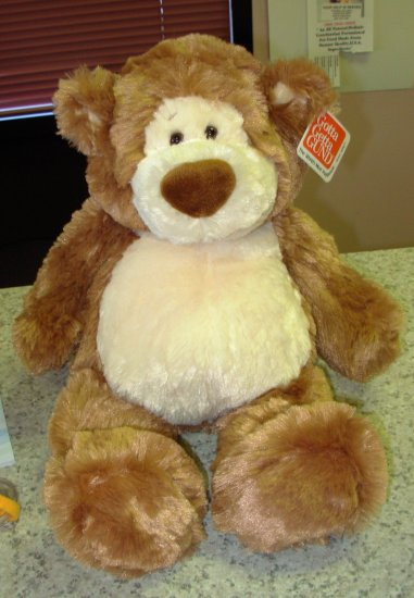 TEDDY BEAR ALFIE BEAR PLUSH STUFFED ANIMAL 19 INCH NEW GUND TEDDYBEAR
