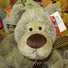 BOSWELL BEAR PLUSH STUFFED ANIMAL NEW GANZ TOY BEAR
