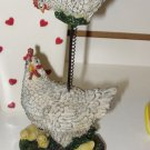 HEN AND CHICKS MEMO HOLDER CBK NEW HOLD RECIPES NOTES AND MORE