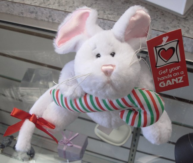 CHRISTMAS HOLIDAY MICE MOUSE NEW GANZ PLUSH STUFFED ANIMAL XMAS TOY
