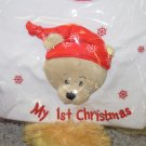 MY FIRST CHRISTMAS 3 TO 6 MONTHS DIAPER SHIRT ONSIE NEW GANZ NEWBORN SIZE SMALL