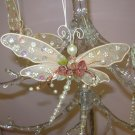 VICTORIAN LOOK CHRISTMAS ORNAMENTS DRAGONFLY NEW GANZ HOME HOLIDAY DECOR