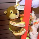 SQUIRREL MAGNATUDE FALL FRIENDS STUFFED PLUSH TOY ANIMAL WITH MAGNETIC FEET NEW GUND
