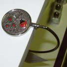 LADYBUG HANDBAG HOOK A BEAUTIFUL SECURE WAY TO HANG YOUR PURSE WHEN OUT NEW GANZ