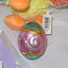 FOILED CHOCOLATE EASTER EGG ORNAMENTS NEW GANZ FAUX FOILED CHOCOLATES
