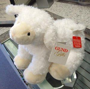Gund Lamb Musical Gracious Waggie Plush Stuffed