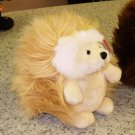 GUND JUMBO GANLEY CARAMEL AND WHITE HEDGEHOG PLUSH STUFFED ANIMAL NEW WITH ORIGINAL TAGS GUND