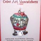 SUNCATCHER CUPCAKE COLOR ART BY GANZ NEW ENAMELED PEWTER