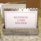 BUSINESS CARD HOLDER PEWTER SAYS GODDESS NEW GANZ GREAT MOTHERS DAY GIFT