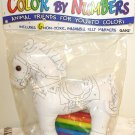 COLOR BY NUMBERS ANIMAL FRIENDS HORSE NEW GANZ WASHABLE NON-TOXIC