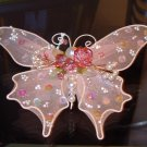 BUTTERFLY VICTORIAN LOOK CHRISTMAS ORNAMENTS NEW GANZ HOME HOLIDAY DECOR