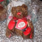 COCOA TIME AND AGAIN BED BUDDIES TEDDYBEAR PLUSH STUFFED ANIMAL NEW GANZ 2001 RETIRED