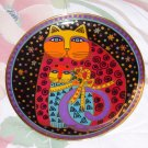 LAUREL BURCH CHERISHED FELINES PLATE LIMITED EDITION NUMBERED SIGNED FRANKLIN MINT