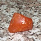 LARGE CARNELIAN NUGGET MINERAL SPECIMEN ROUGH GREAT COLOR