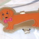 LUGGAGE TAG WEINER DOG DACHSHUND PUPPY DOG NEW GANZ IDENTIFY YOUR LUGGAGE EASILY