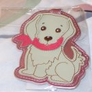 LUGGAGE TAG COCKER SPANIEL PUPPY DOG NEW GANZ IDENTIFY YOUR LUGGAGE EASILY