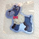 LUGGAGE TAG SCOTTIE SCOTTISH TERRIER BREED PUPPY DOG NEW GANZ IDENTIFY YOUR LUGGAGE EASILY