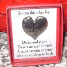 HEART TOKEN FOR YOUR SWEETIE REDEEMABLE GIFT ITEM NEW GANZ NO KIDS TONIGHT