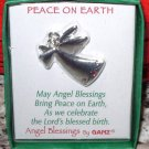 PEACE ON EARTH PENDANT ANGEL BLESSINGS BY GANZ ANGEL PENDANT WITH CRYSTAL NEW GIFT JEWELRY ITEM