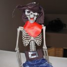 SKELETON IN COSTUME COWBOY OR PIRATE HALLOWEEN HANGING SHELF SITTER HOME DECOR NEW