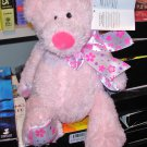 NEW MINI TUBBY TUMMIES BEAR SAYS BE MINE LIGHT PINK TEDDYBEAR PLUSH GANZ