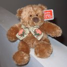 8 INCH GUND TEDDY BEAR PATCHES RETIRED PLUSH STUFFED ANIMAL NEW WITH ORIGINAL TAGS RARE