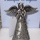 ANGEL OF LOVE PEWTER ANGEL FIGURINE FAITHFUL ANGELS BY GANZ NEW