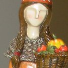 INDIAN FALL HARVEST THANKSGIVING FIGURINE NEW HOME HOLIDAY DECOR GANZ