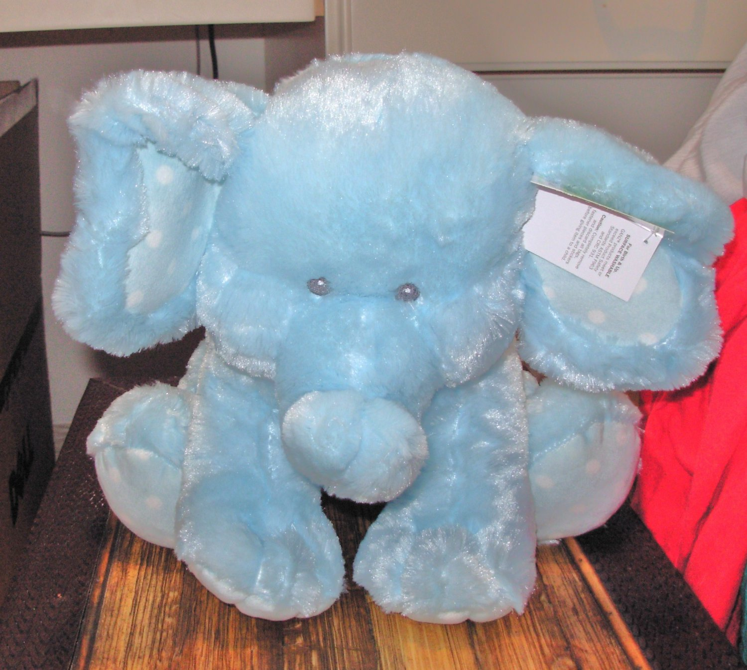 Baby Ganz Sweet Sammie Blue Elephant Plush Stuffed Animal