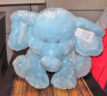 Baby Ganz Sweet Sammie Blue Elephant Plush Stuffed Animal