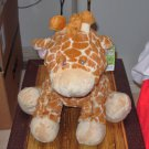 JAMIE GIRAFFE NEW BABY GANZ PLUSH STUFFED ANIMAL TOY