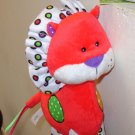 LION LONG LEG LOOKIELOOS BABY TOY NEW GANZ PLUSH RATTLE CRINKLES