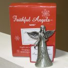 ANGEL OF REMEMBRANCE ZINC ANGEL FIGURINE FAITHFUL ANGELS BY GANZ NEW