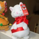 TANGLED CATS NEW GANZ WHITE PLUSH STUFFED ANIMAL KITTY CAT