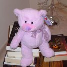 LAVENDER PETUNIA BEAR PLUSH STUFFED ANIMAL NEW GANZ TEDDY BEAR
