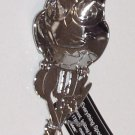SPOON REST OWL HIGHLY POLISHED ZINC NEW GANZ KITCHEN DECOR