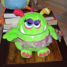 OOGARELLA MARSHA GREEN 7.5 INCH PLUSH STUFFED OGRE DOLL NEW GANZ