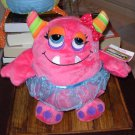 OOGARELLA GLORIA 7.5 INCH PLUSH STUFFED OGRE DOLL NEW GANZ