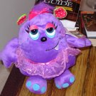OOGARELLA SHIRLEY PURPLE 7.5 INCH PLUSH STUFFED OGRE DOLL NEW GANZ