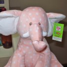 WAGGLE HEAD ELEPHANT BABY GANZ NEW PLUSH STUFFED ANIMAL PLAYS TWINKLE TWINKLE LITTLE STAR NEW
