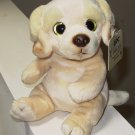 GANZ CLASSICS GOLDEN RETRIEVER PUPPY PLUSH STUFFED ANIMAL SOULFUL EYES NEW