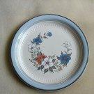 NEW Johann Haviland Crowning Fashion Blue Bouquet Stoneware Dinner Plate