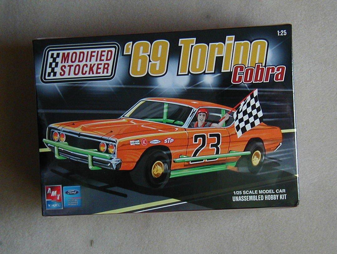 FACTORY SEALED AMT Ertl Modified Stocker '69 Torino Cobra #21691P