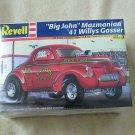 "FACTORY SEALED Revell ""Big John"" Mazmanian '41 Willys Gasser #85-2350"