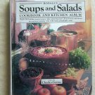 """""""Rodale's Soups and Salads Cookbook and Kitchen Album"""" by Rodale Press Hardcover"""