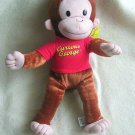 """NEW NWT Curious George Stuffed Plush Animal Toy 16"""" Tall Kelly Toys 2005"""