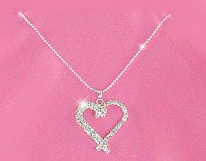 Austrian Crystal Heart Necklace